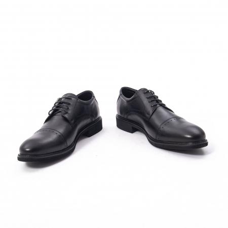Pantofi eleganti de barbat,piele naturala Catali 172558 negru4