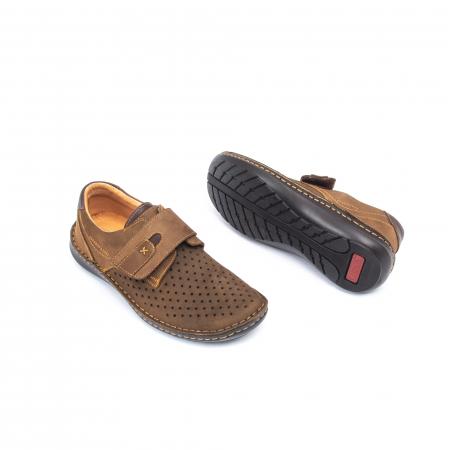 Pantofi vara barbati OT 9583 maro2