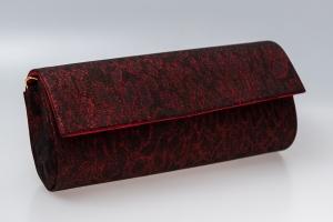 Plic butoias 002 textil rosu grena0