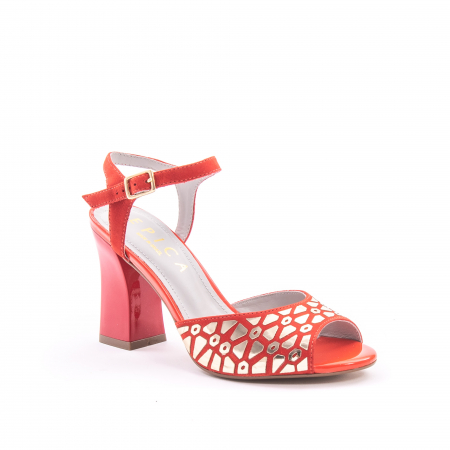 Sandale dama elegante Epica OE8643 05-2, rosu0