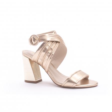 Sandale dama elegante piele naturala Epica oe8785-274, auriu0