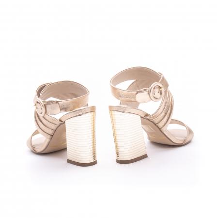 Sandale dama elegante piele naturala Epica oe8785-274, auriu6