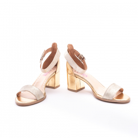 Sandale dama LFX  128 auriu box sidef