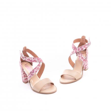 Sandale dama  LFX 139  nude roze1