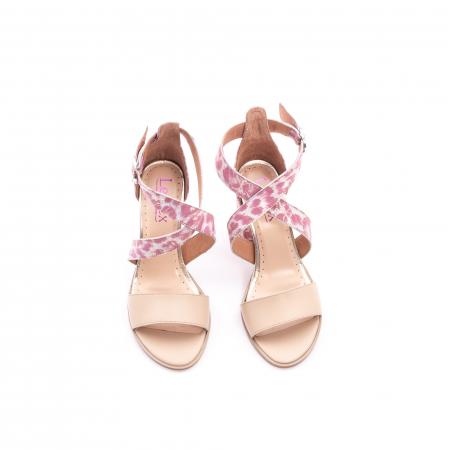 Sandale dama  LFX 139  nude roze5