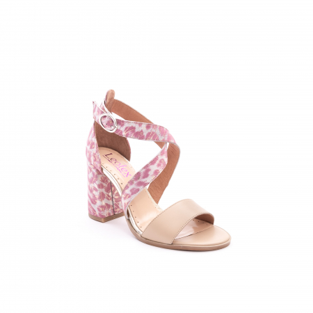 Sandale dama  LFX 139  nude roze0