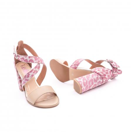 Sandale dama  LFX 139  nude roze2