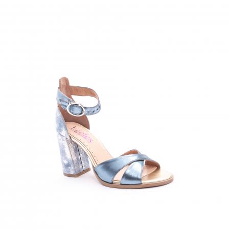 Sandale dama  LFX 148 blue sidef0