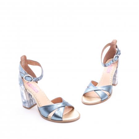 Sandale dama  LFX 148 blue sidef1