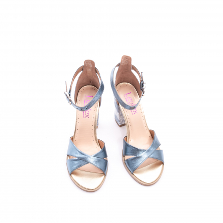 Sandale dama  LFX 148 blue sidef5