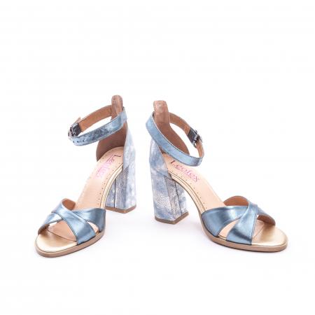 Sandale dama  LFX 148 blue sidef4