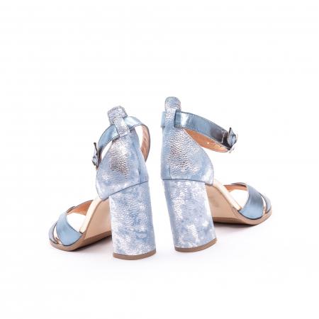 Sandale dama  LFX 148 blue sidef6