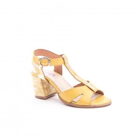 Sandale dama LFX 156 galben
