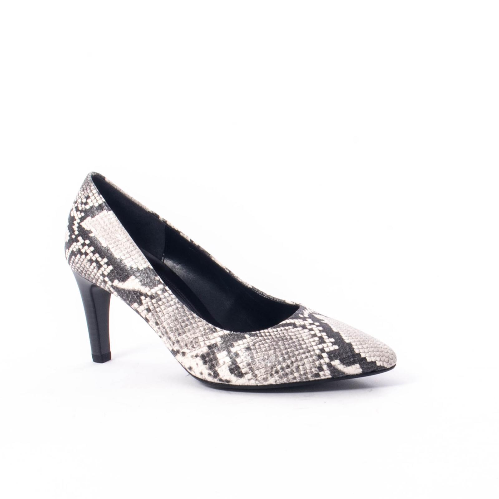 sports shoes 503b5 20148 Pantofi eleganti dama piele naturala Gabor 3138030, python grau