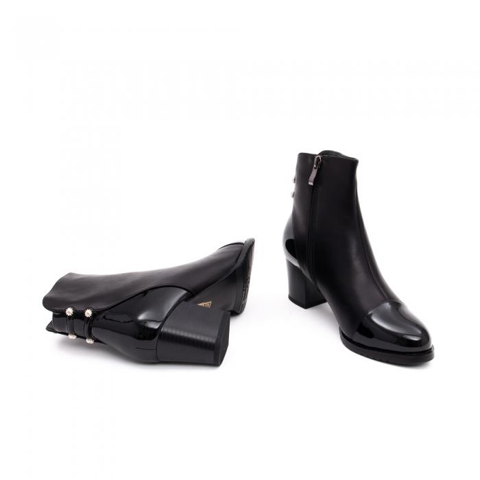 Botine elegante dama TN938 black