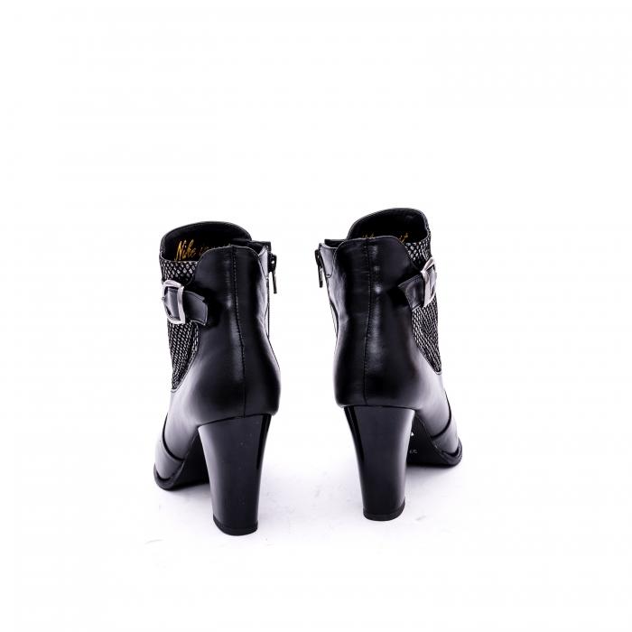 Botine elegante de dama marca Nike Invest  G 989 negru