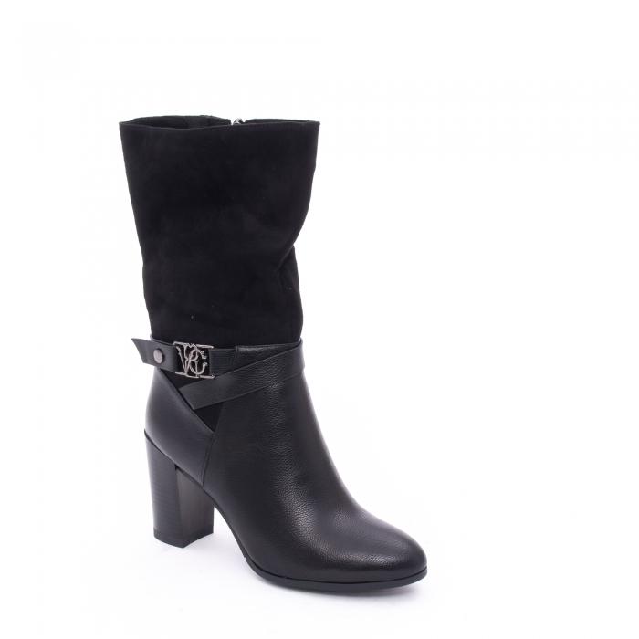 Cizma scurta eleganta dama VN9409-1 black
