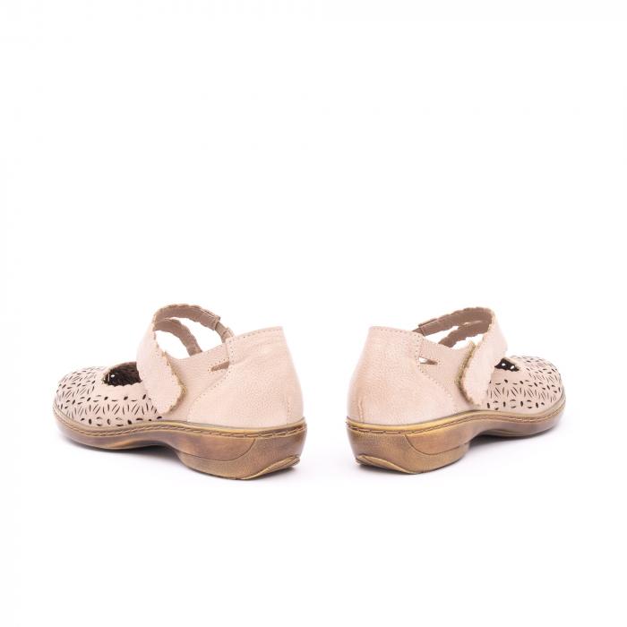 Pantof casual dama Kiarflex KR19040 bej