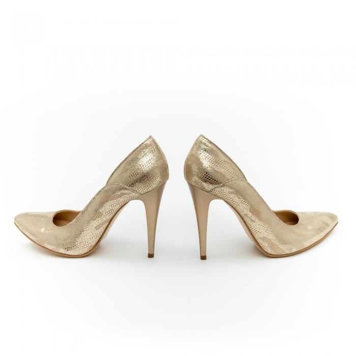 Pantof elegant dama 1106 auriu