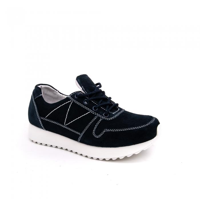 Pantof sport dama -cod F002-91 navy suede