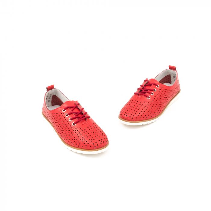 Pantofi de vara 102 rosu