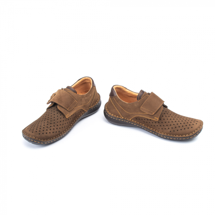 Pantofi vara barbati OT 9583 maro