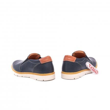 Pantof casual barbat 5916 bleumarin
