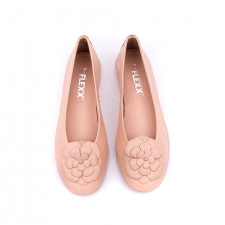Pantof casual dama B226 pudra
