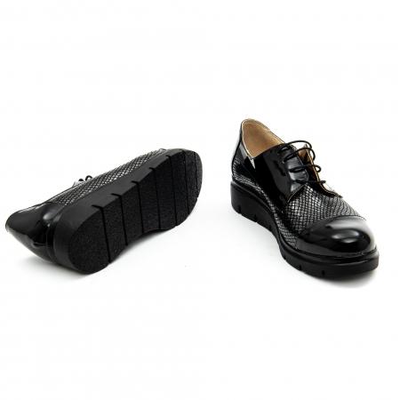 Pantof casual dama ,cod 1129 negru