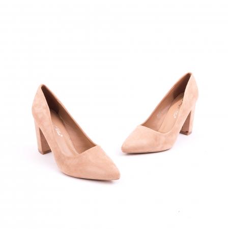 Pantof elegant 659 nude