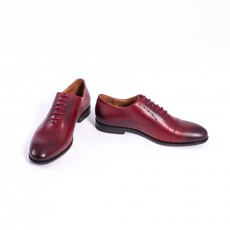 Pantof elegant barbat LFX 934 visiniu