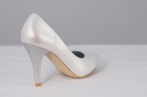 Pantof elegant dama,cod 98411 silver