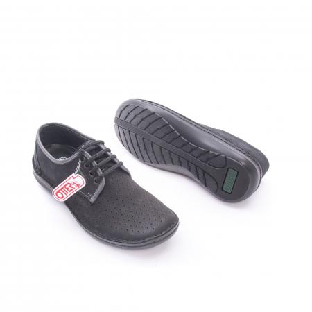Pantof vara barbat OT 9558 01 negru