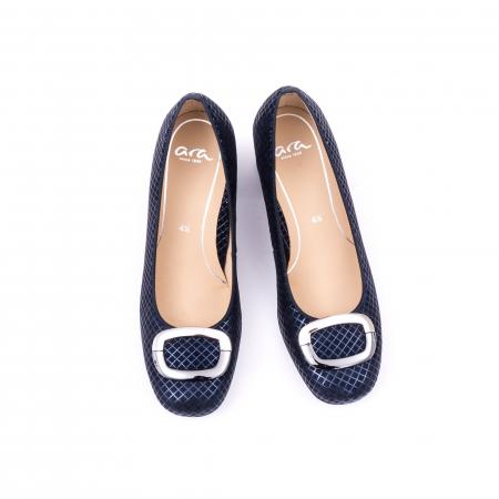 Pantofi eleganti Ara 12-35534 SQUAREKID MIDNIGHT
