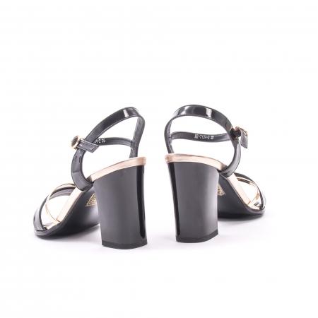 Sanda eleganta 7104-2 negru