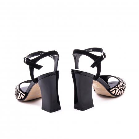 Sanda eleganta dama OE8643 01-2 negru