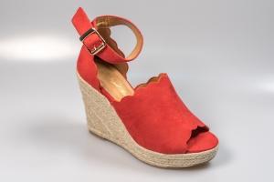 dcd4dc81238f4 Sandale cu platforma KFL 486 red