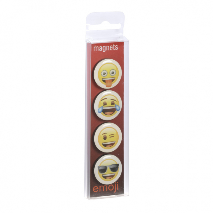 Set 4 magneti Emoji Love