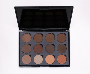 Paleta profesionala makeup sprancene Powder Pick 12 culori