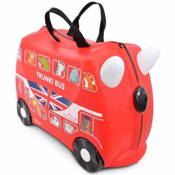 Valiza TRUNKI BORIS - London Bus Rosu