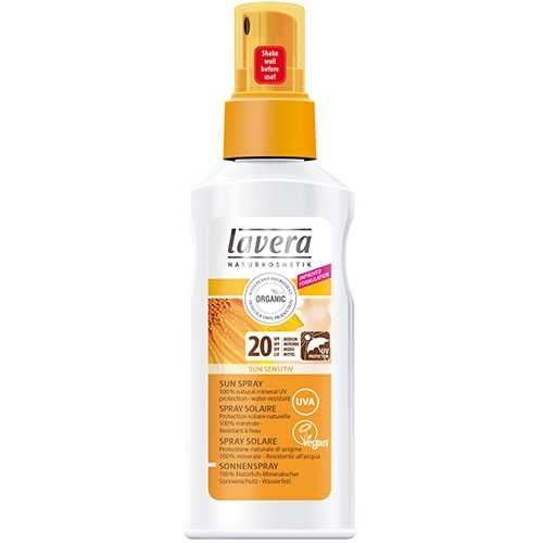 Spray cu extract de galbenele pentru protectie solara FPS 20, 125 ml - LAVERA