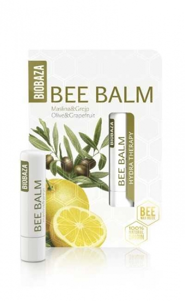 Balsam de buze cu ulei de masline si grapefruit  - BIOBAZA