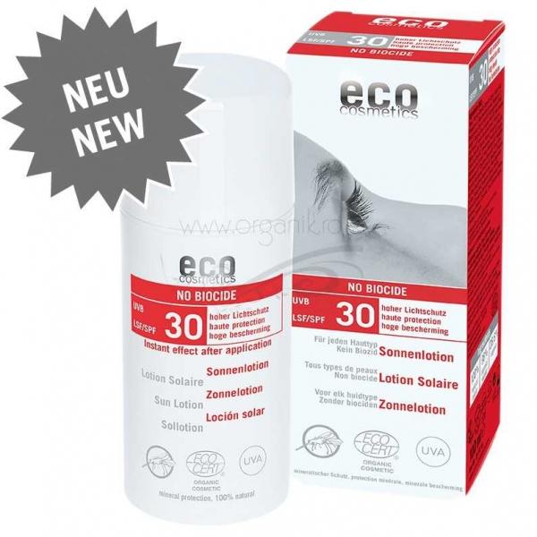 Lotiune de protectie solara FPS 30 cu repelent pentru insecte, 100 ml - Eco Cosmetics