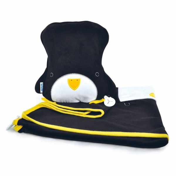 Set perna si pled Trunki SnooziHedz Penguin