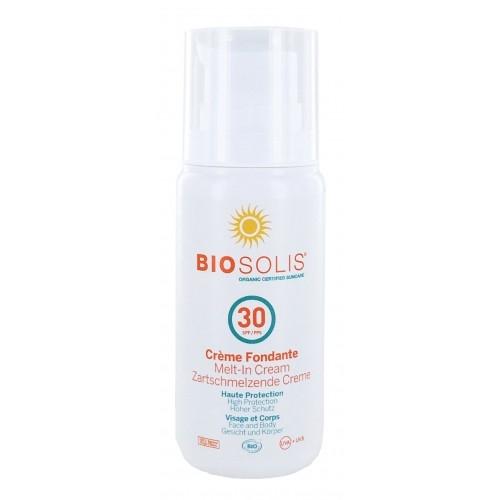"""Crema de soare """"MELT-IN"""" SPF 30 Biosolis 100ml"""