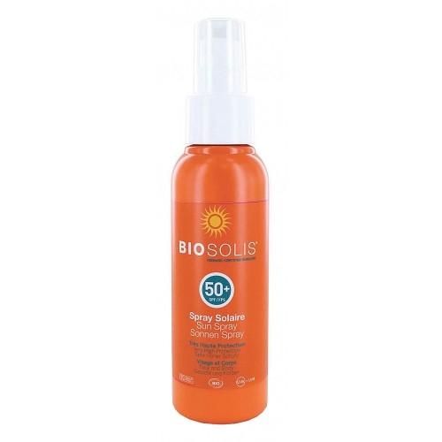Spray de soare SPF 50  Biosolis 100ml