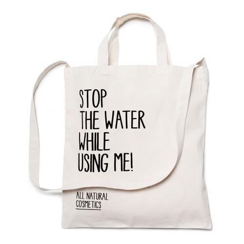 Sacosa de panza (lăţime 38,5 cm / înălţime 40 cm) Stop the water while using me