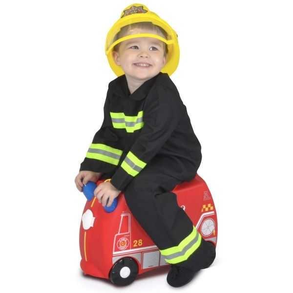 Valiza TRUNKI FRANK - Masina de Pompieri