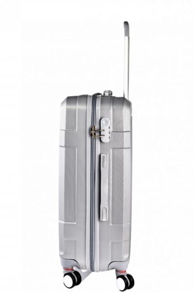 Klept Troler ABS TRAVEL-50 Argintiu