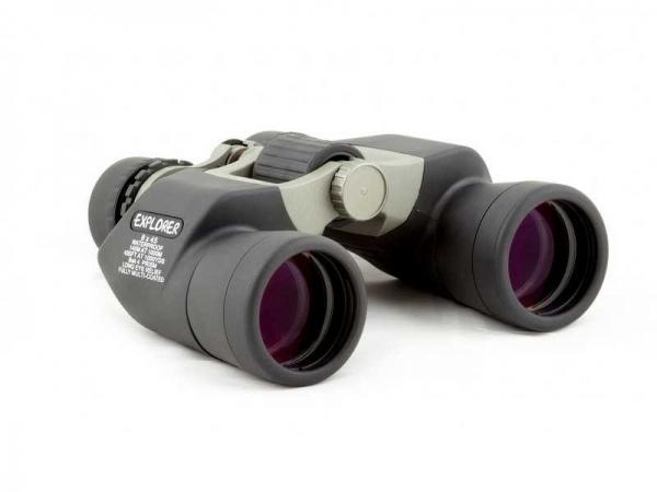 Binoclu Lacerta Explorer 8x45 High Grade, Waterproof, Wide Angle, Full broadband multicoated